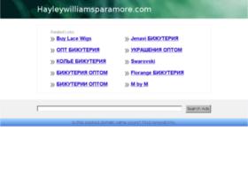 hayleywilliamsparamore.com