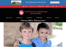haywoodchristianacademy.org
