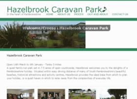 hazelbrookcaravanpark.co.uk
