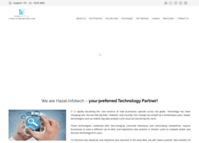 hazelinfotech.com