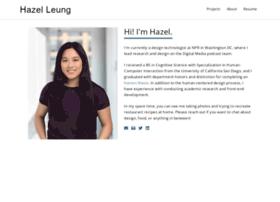 hazelleung.com