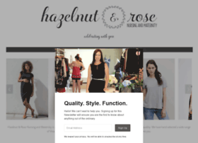 hazelnutandrose.com