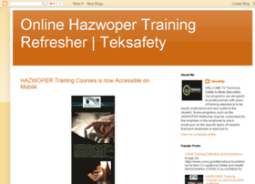 hazwoper-training-online.blogspot.com