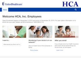 hca.welcometouhc.com