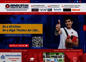 hcaschennai.edu.in