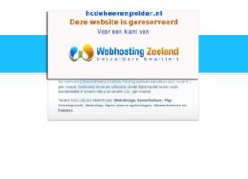 hcdeheerenpolder.nl