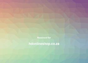 hdonlineshop.co.za