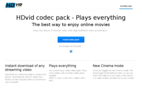 hdvid-codecs.com