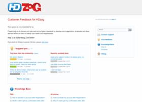 hdzog.uservoice.com