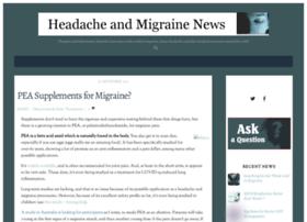 headacheandmigrainenews.com