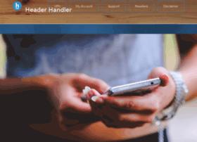 headerhandler.com