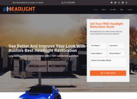 headlightrestorationaustin.com
