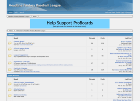 headlinemlb.proboards.com