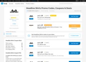 headlineshirts.bluepromocode.com