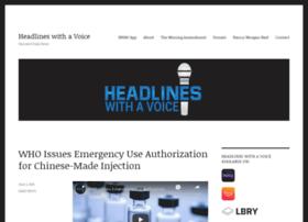headlineswithavoice.com