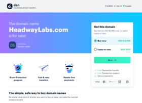 headwaylabs.com