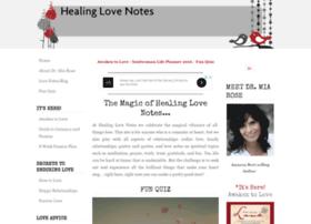 healinglovenotes.com
