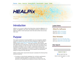 healpix.sourceforge.net