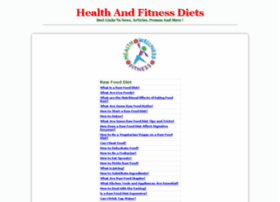 health-and-fitness-diets.kmlshopping.com