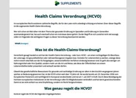 health-claims-verordnung.de