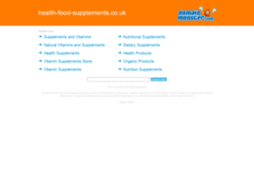 health-food-supplements.co.uk