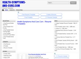 health-symptoms-and-cure.com