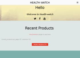 health-watch.org