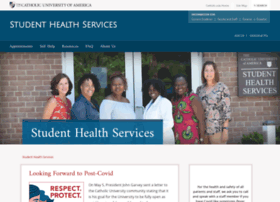 health.cua.edu