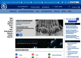 health.macombgov.org