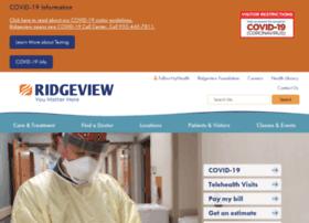 health.ridgeviewmedical.org