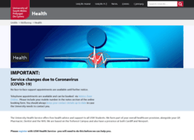 health.southwales.ac.uk