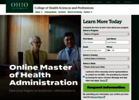 healthadmin.ohio.edu