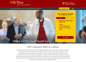 healthadministrationdegree.usc.edu