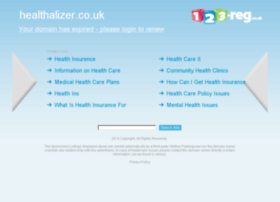 healthalizer.co.uk