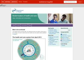 healthandcare.dh.gov.uk