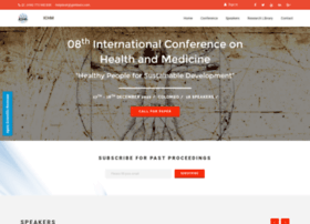 healthandmedicineconference.globalacademicresearchinstitute.com