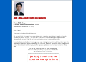 healthandwealthstays.info