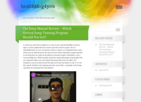 healthblog4you.wordpress.com