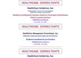 healthcare-consulting.com