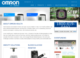 healthcare.omron.co.in