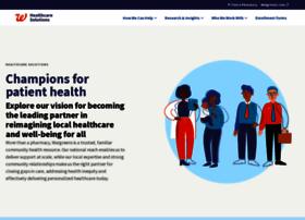 healthcare.walgreens.com