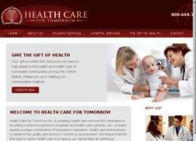 healthcarefortomorrow.org