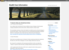 healthcareinformation.blognet.me