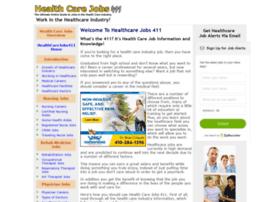 healthcarejobs411.com