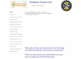 healthcarepracticetest.com