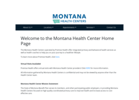 healthcenter.mt.gov