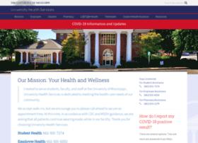 healthcenter.olemiss.edu