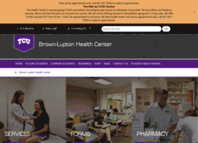 healthcenter.tcu.edu