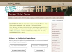 healthcenter.txstate.edu