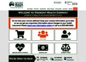 healthconnect.vermont.gov
